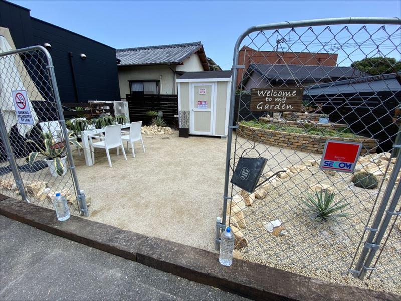 倉庫完成しました♪ オンズガーデン「ガーデニング専門花屋」