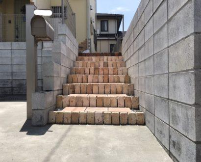 駐車場拡張工事・階段移設工事♪ オンズガーデン「ガーデニング専門花屋」